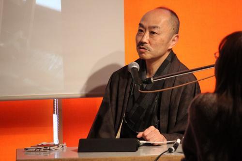 小紋屋高田勝 高田啓史さん なやまち文化カレッジにて