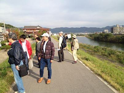 宇治川散策