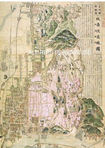 皇州緒餘撰部 城南伏見地図